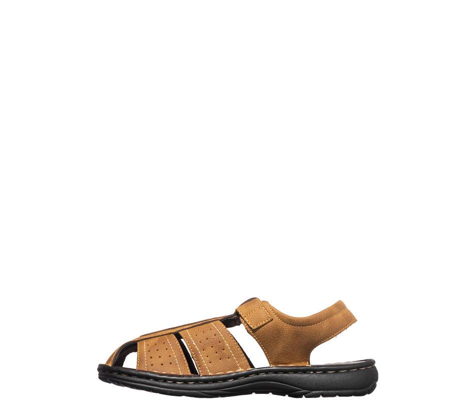 Softouch Men Tan Lifestyle Dress Sandal