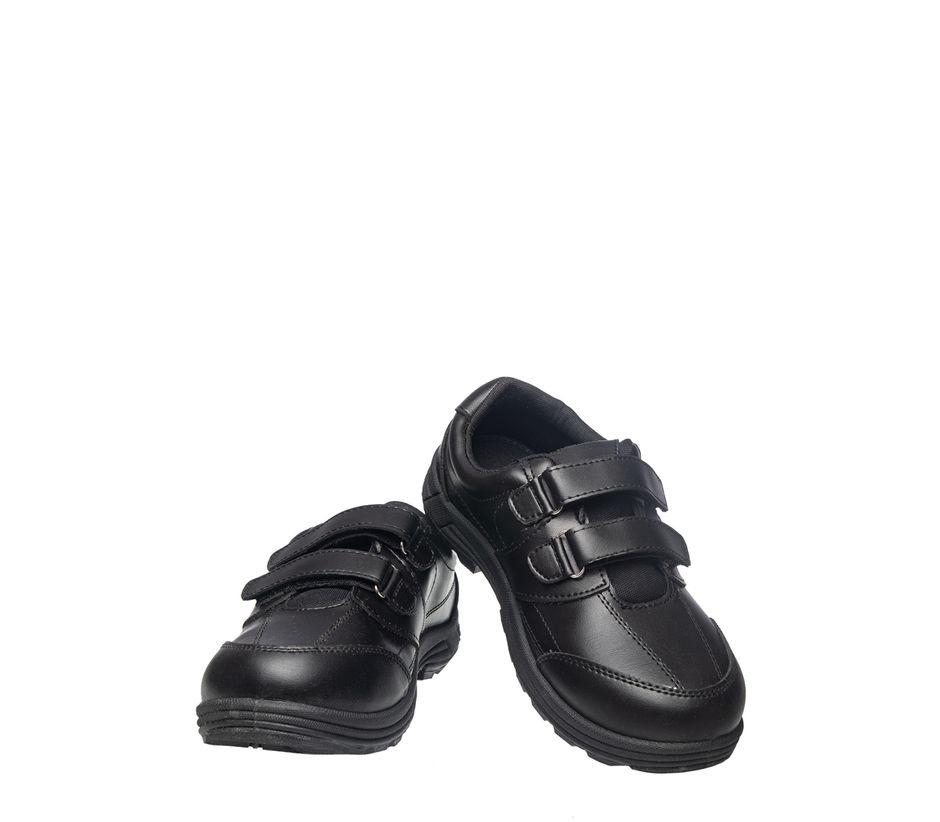 Khadim's Boy Black Sports Activity Sneakers