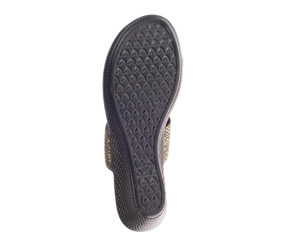 Khadim's Women Black Casual Heel Sandal