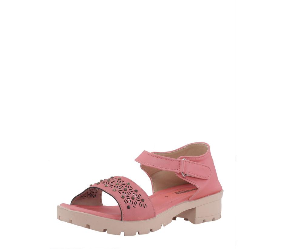 Khadim's Adrianna Girls Pink Flat Sandal