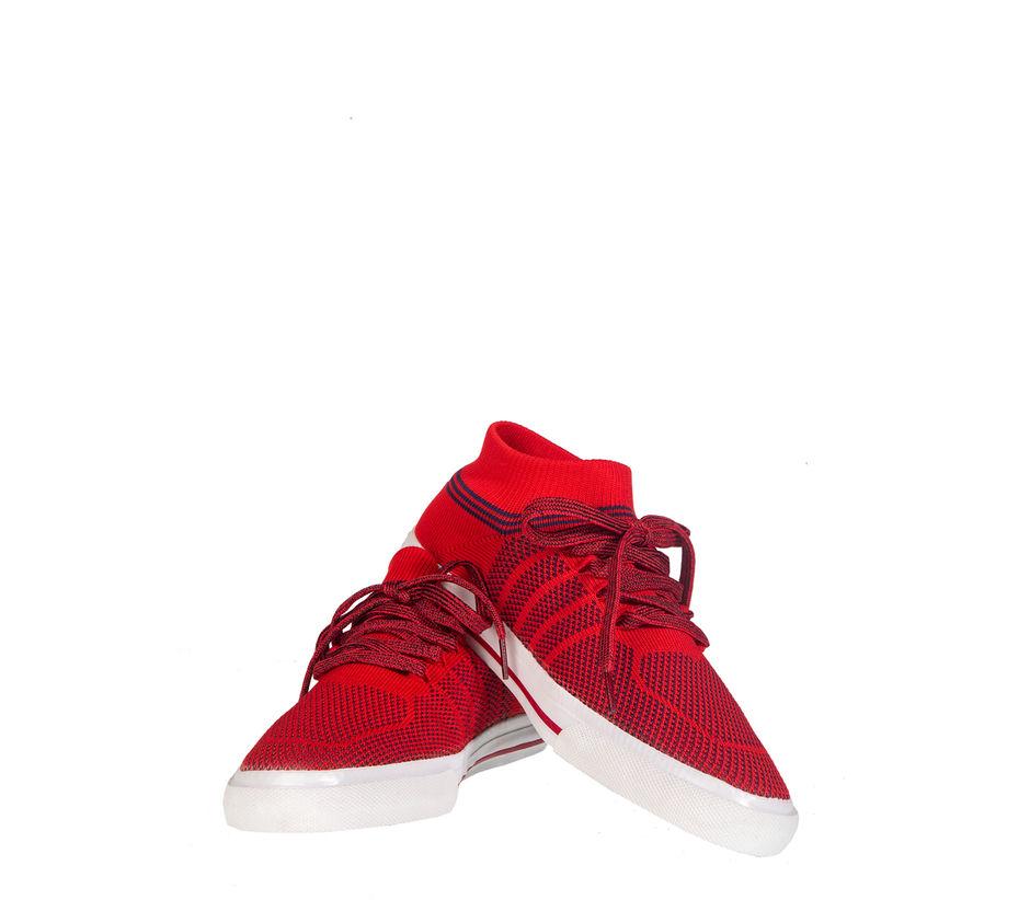 Pro Men Red Casual Dress Sneakers