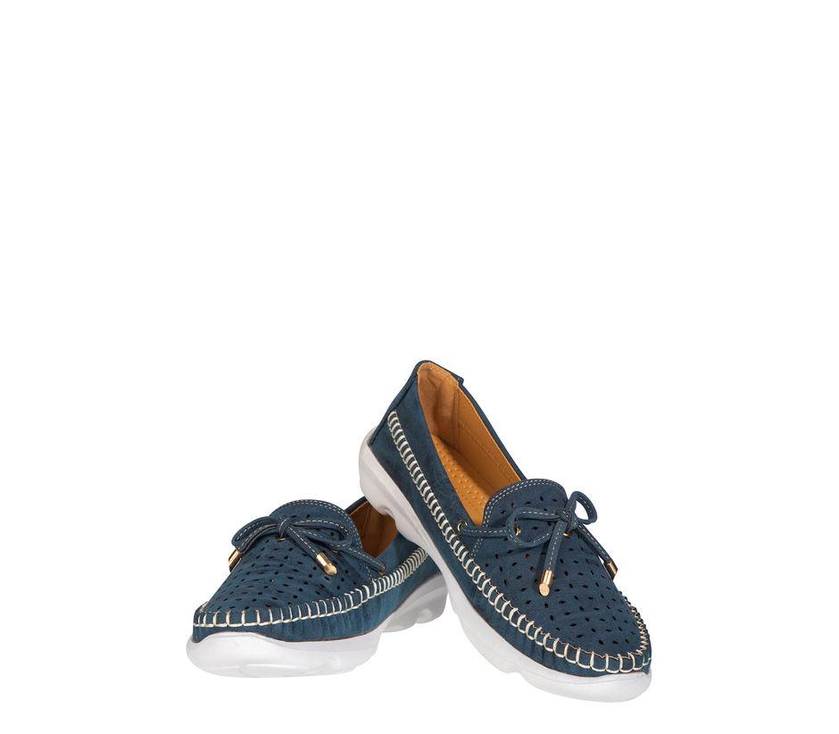 Sharon Women Navy Lifestyle Loafer Shoe