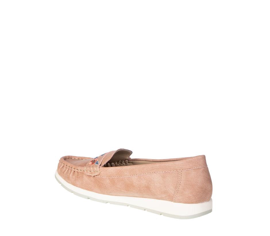 Sharon Women Peach Lifestyle Loafer Shoe