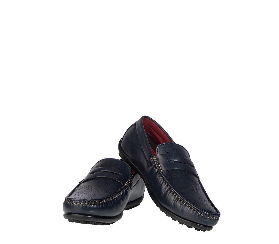 Lazard Men Navy Casual Loafer Shoe