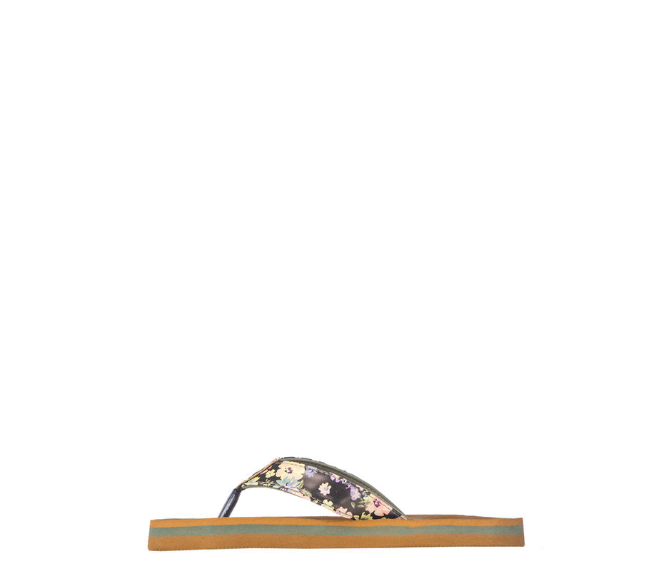Waves Women Olive Casual Flat Slipper