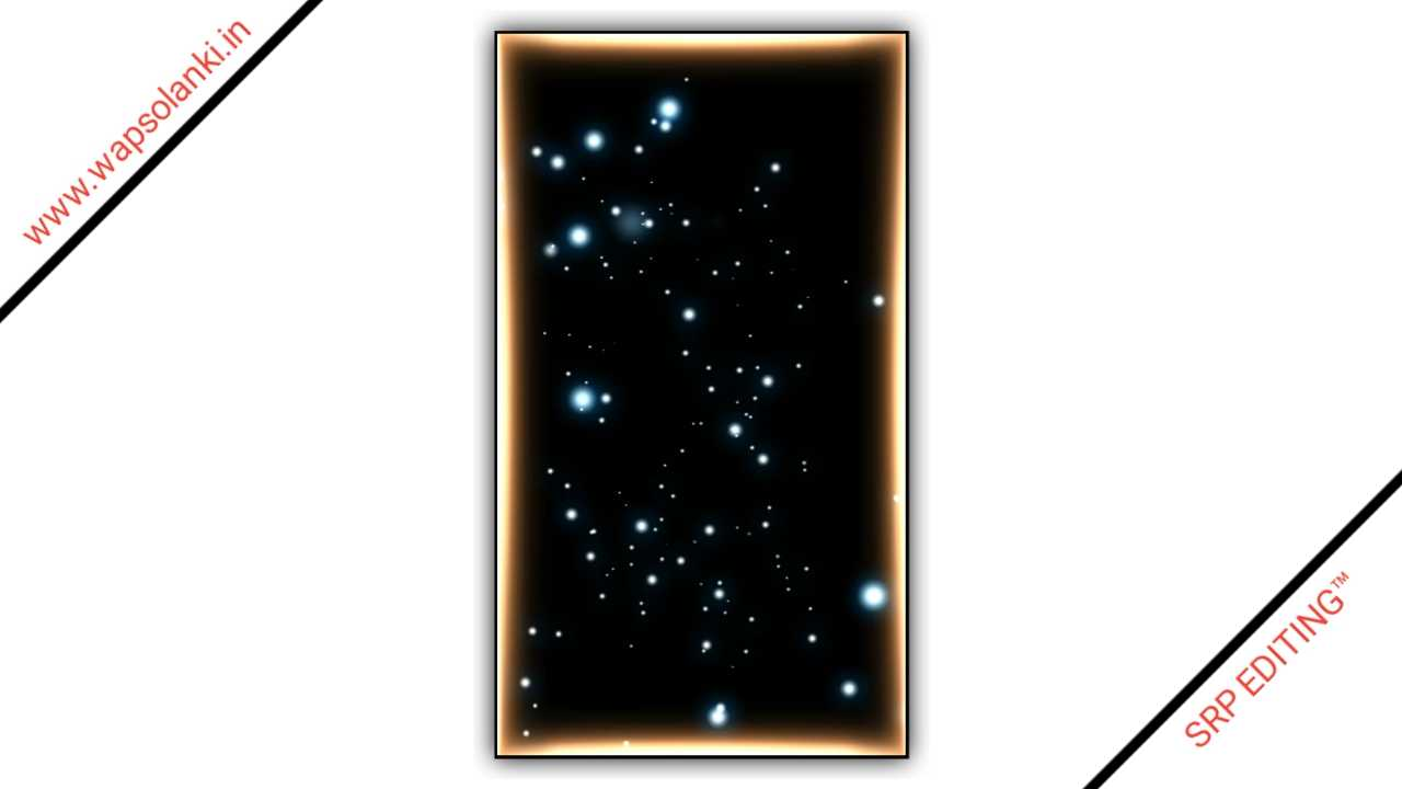 Galaxy Star Particles Background Effect Kinemaster Template Download Free 2021