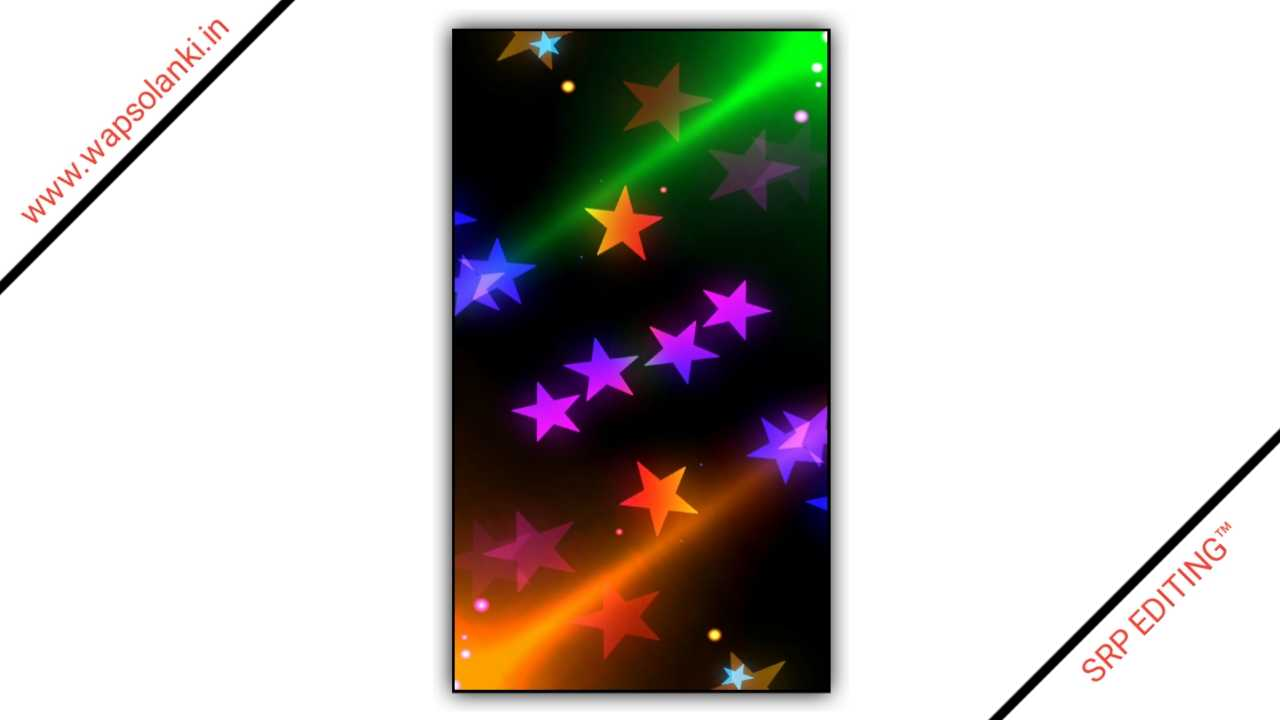 Star Motion Effect Drop Light Particles Kinemaster Template 119 Download