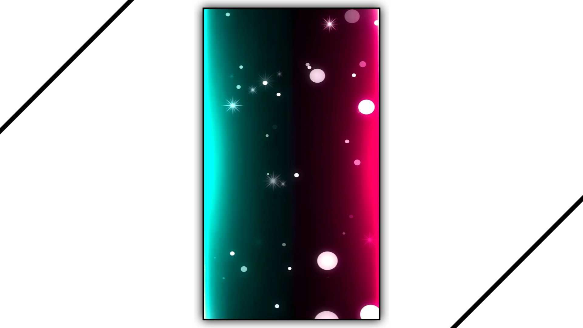 Line Color Light Effect Border Frame Kinemaster Template Download Free