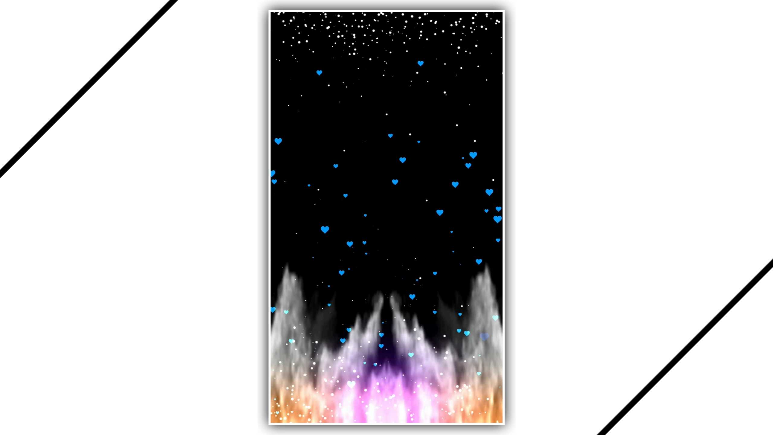 Lava Production Background Kinemaster Template