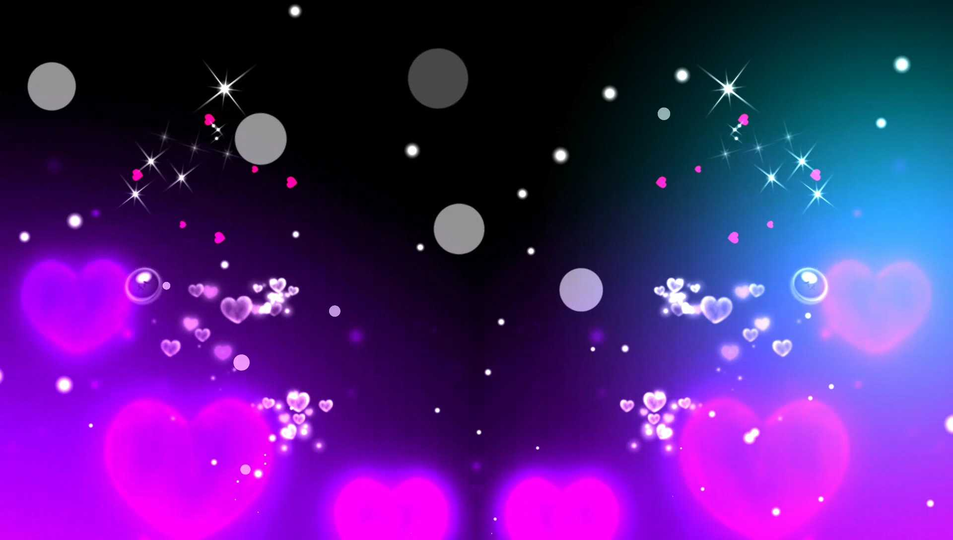 Fumix Heart Drop Light Particles Background Effect Template Download For Kinemaster