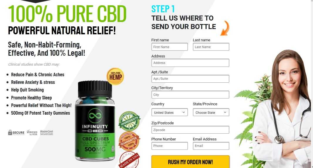 Infinuity CBD Cubes Reviews: Precautions recommended by InfinuityCBDGummies  • Kit