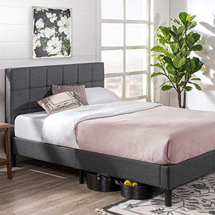 Allewie Queen Platform Bed Frame With 4, Allewie Queen Platform Bed Frame With 4 Drawers Storage