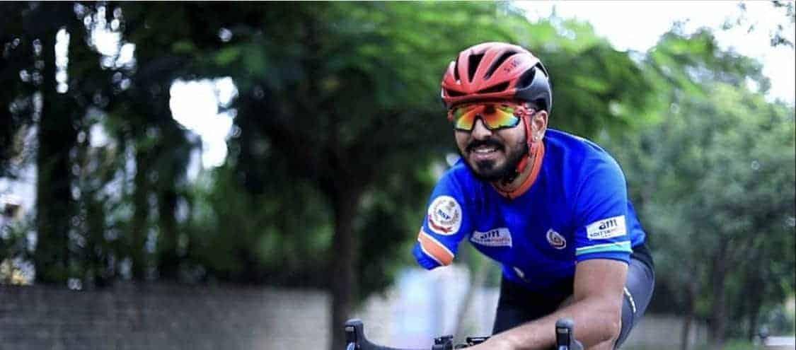 Divij Shah, Asian para-cycling champion