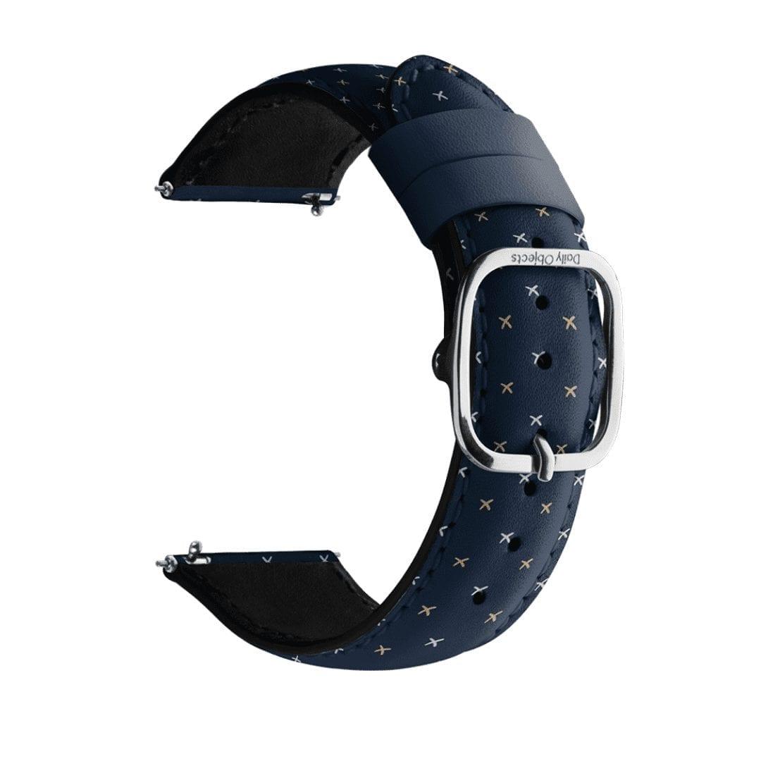 Little Navy Crosses Leather Universal WatchBand Klippik Kuwait