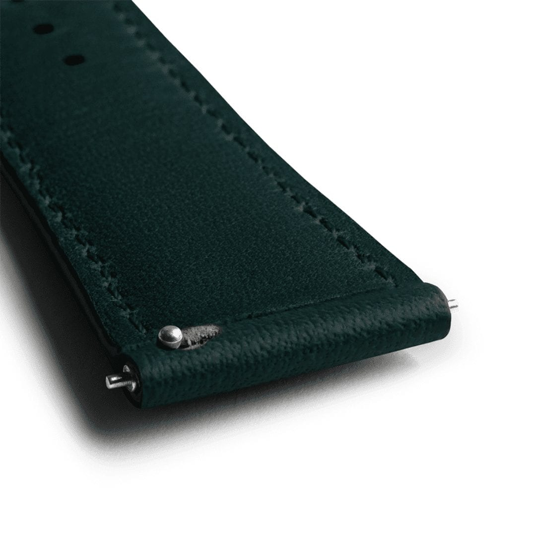 Teal Napa Leather Universal WatchBand KLIPPIK KUWAIT