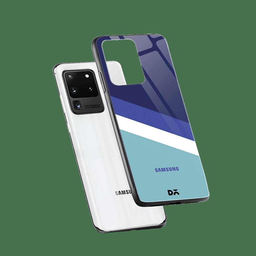 Aqua Angles Glass Case Cover For Samsung Galaxy S20 Ultra Klippik Kuwait