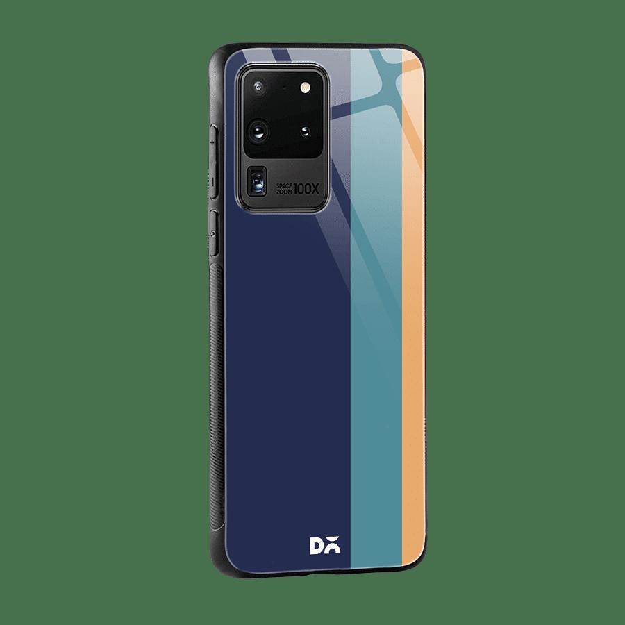 Blue Vertical Glass Case Cover for S20 Ultra Klippik Kuwait