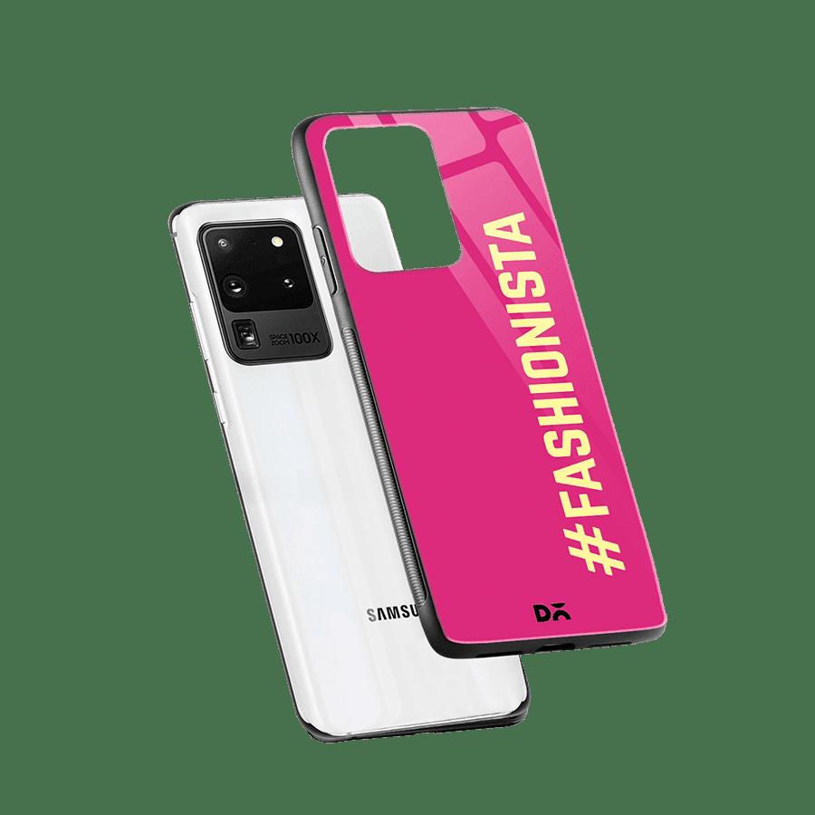 Fashionista Glass Case Cover For Samsung Galaxy S20 Ultra Klippik Kuwait