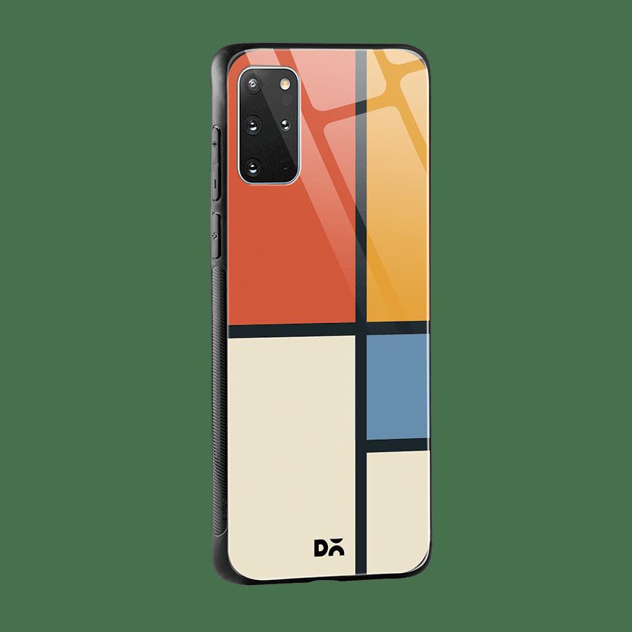 Orange Window Glass Case Cover for S20 Plus Klippik Kuwait