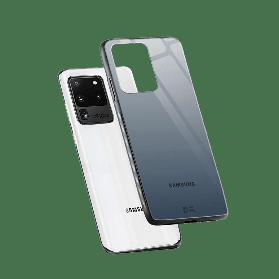 Smoke Gradient Glass Case Cover for S20 Ultra | Klippik Kuwait