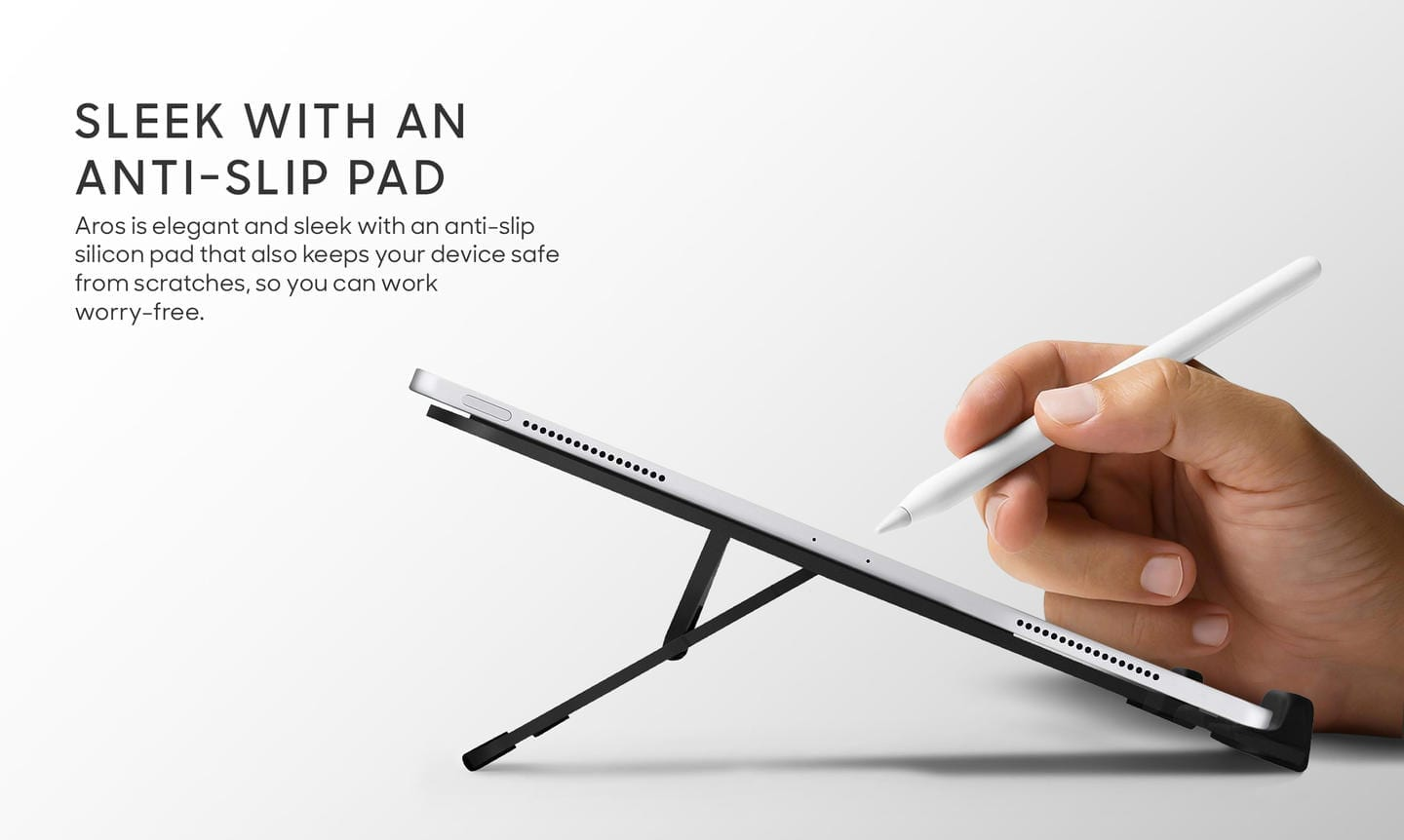 Easy to use stands for iPads and Tablets