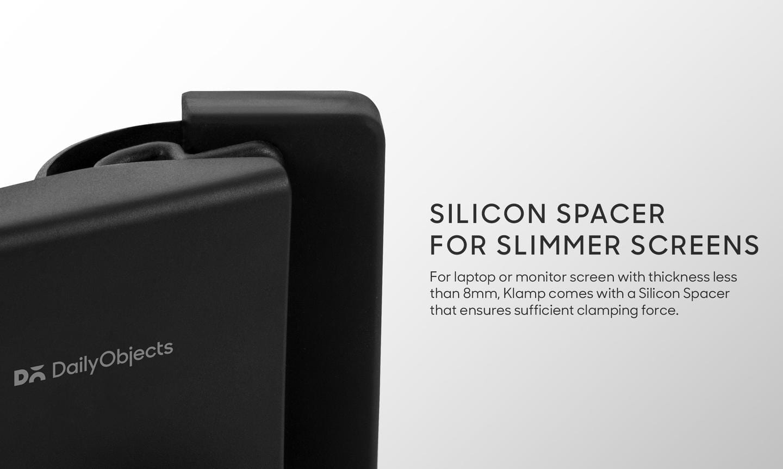 Klamp - Phone Holder For Laptop/Desktop Screen