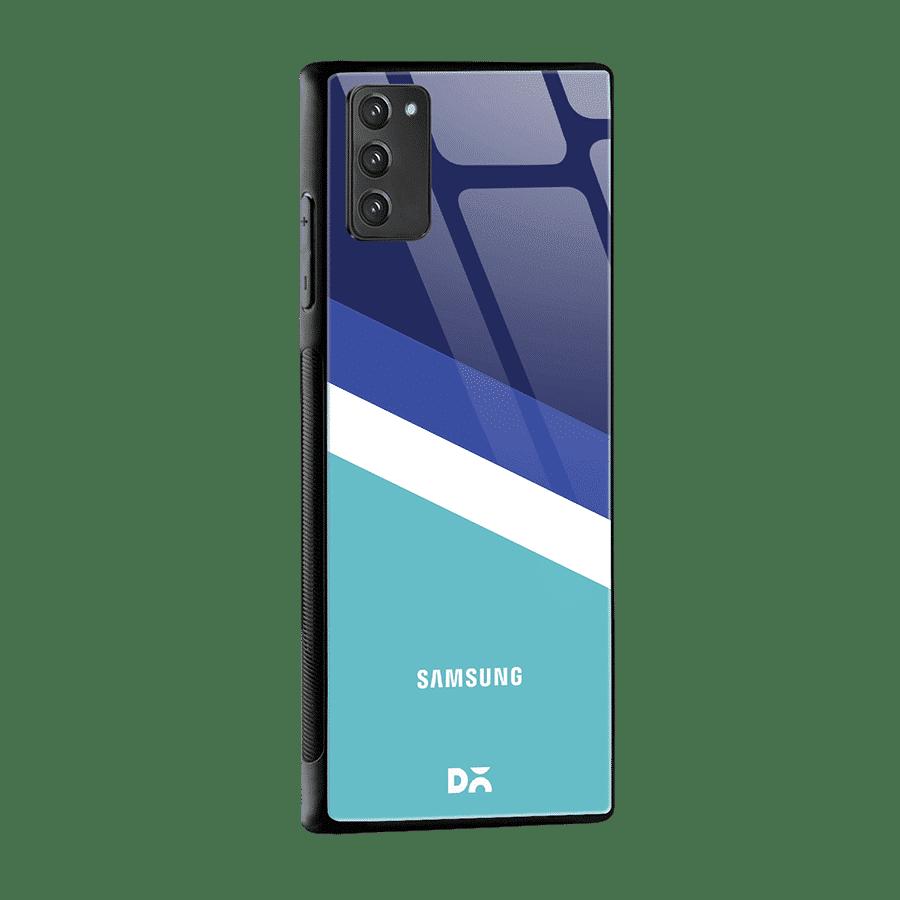 Aqua Angles Glass Case Cover for Samsung Galaxy Note 20 | Klippik Kuwait