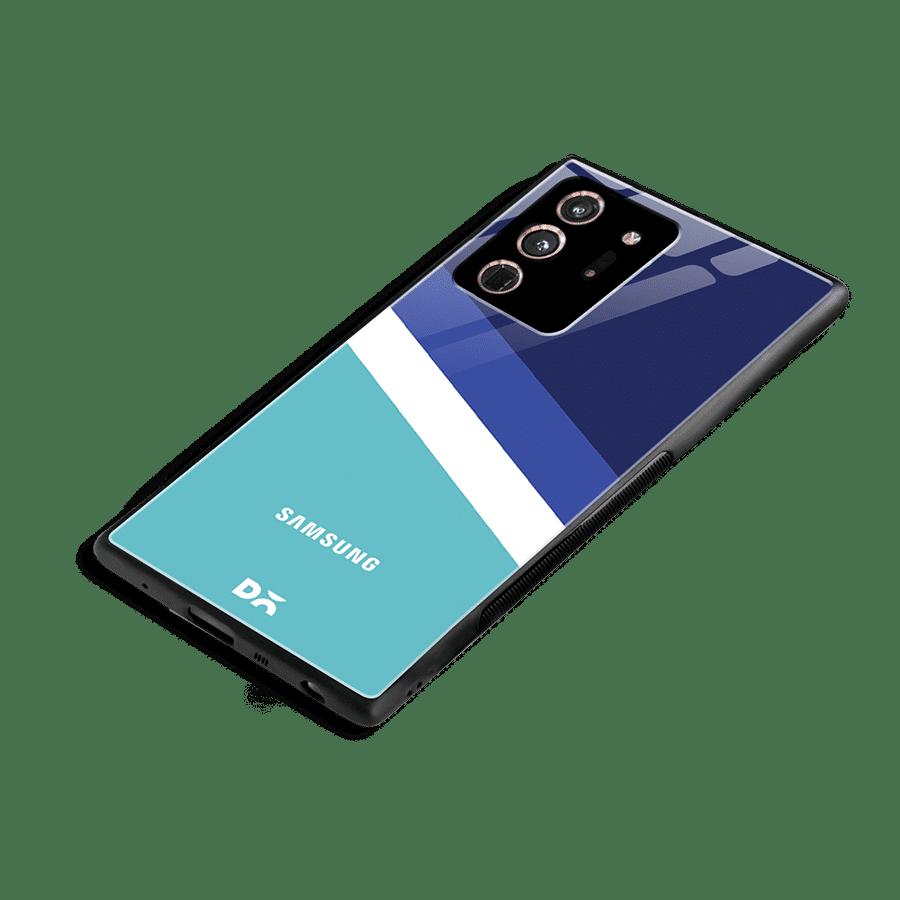 Aqua Angles Glass Case Cover for Samsung Galaxy Note 20 Ultra | Klippik Kuwait