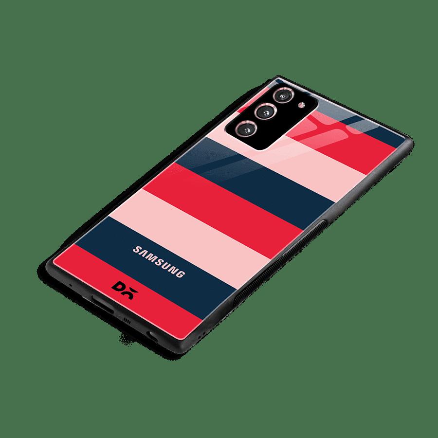 Dark Lines Glass Case Cover for Samsung Galaxy Note 20 | Klippik Kuwait