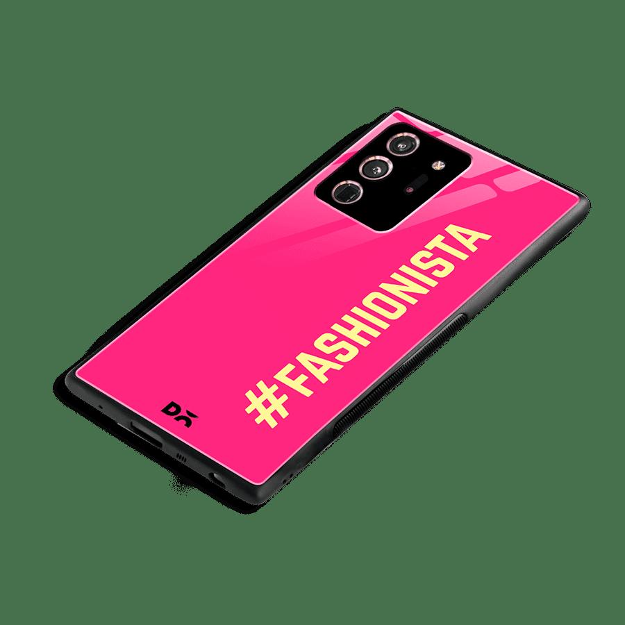 Fashionista Glass Case Cover for Samsung Galaxy Note 20 Ultra   Klippik Kuwait