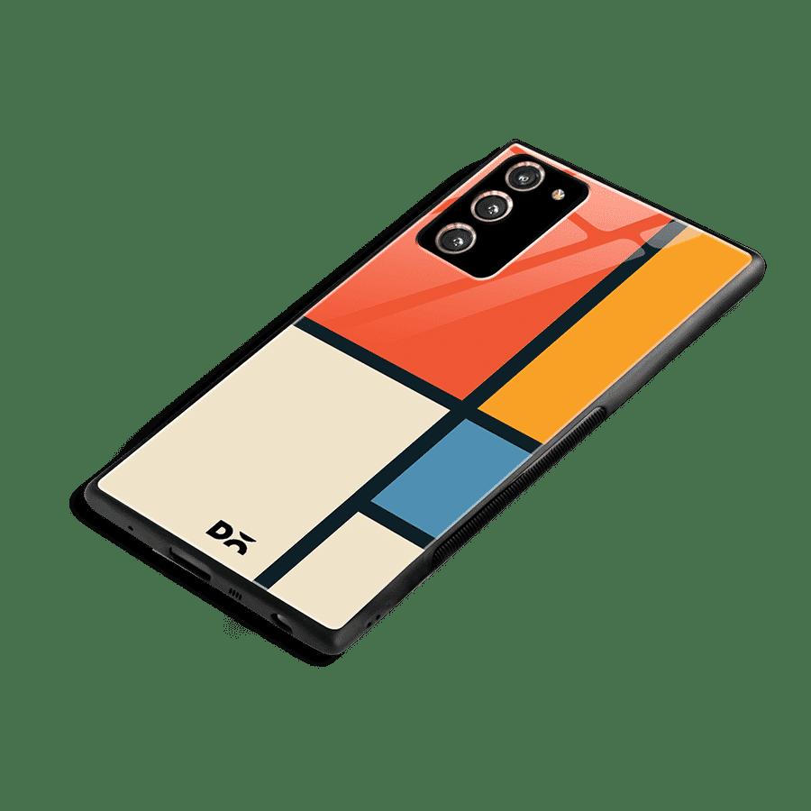 Orange Window Glass Case Cover for Samsung Galaxy Note 20   Klippik Kuwait