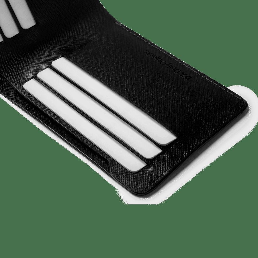 Black Saffiano Leather UrbanGentleman Wallet | Klippik | Online Shopping Kuwait UAE Saudi