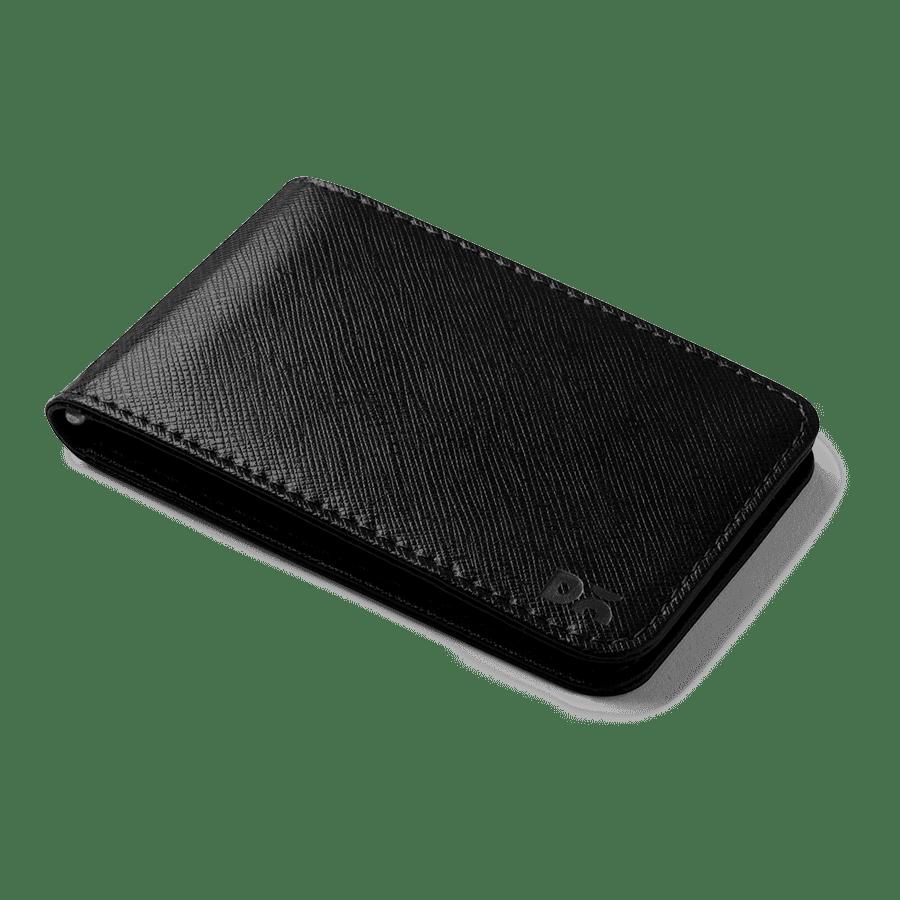 Black Saffiano Leather UrbanHipster Wallet | Klippik Online Shopping Kuwait UAE Saudi