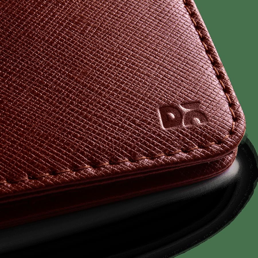 Tan Saffiano Leather UrbanHipster Wallet | Klippik Kuwait