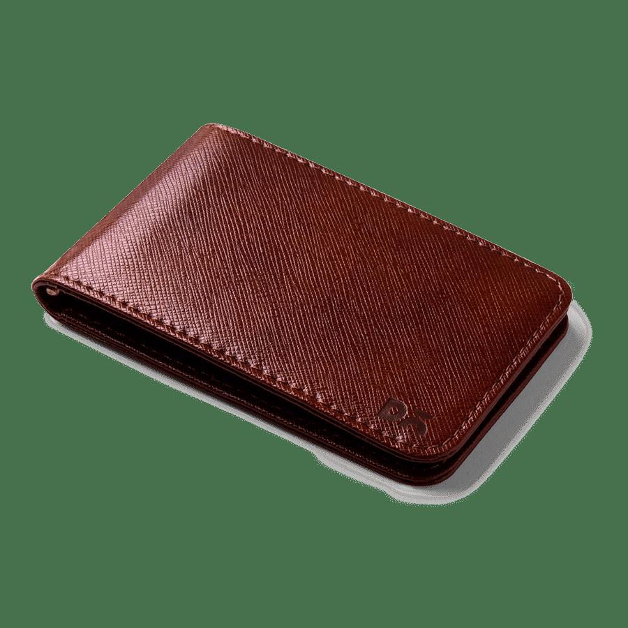 Tan Saffiano Leather UrbanHipster Men Wallet | Klippik Kuwait