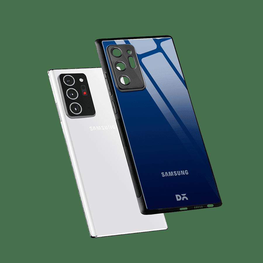 Nightfall Gradient Glass Case Cover For Samsung Galaxy Note 20 Ultra | Klippik Online SHopping Kuwait