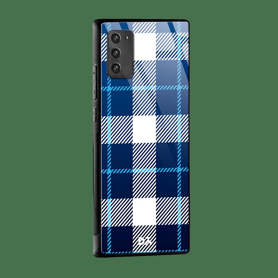 Nightfall Rope Checks Glass Case Cover For Samsung Galaxy Note 20 Klippik Kuwait