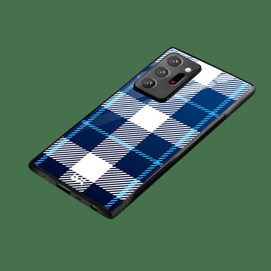 Nightfall Rope Checks Glass Case Cover For Samsung Galaxy Note 20 Ultra | Klippik Kuwait