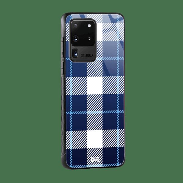 Nightfall Rope Checks Glass Case Cover For Samsung Galaxy S20 Ultra Klippik Kuwait