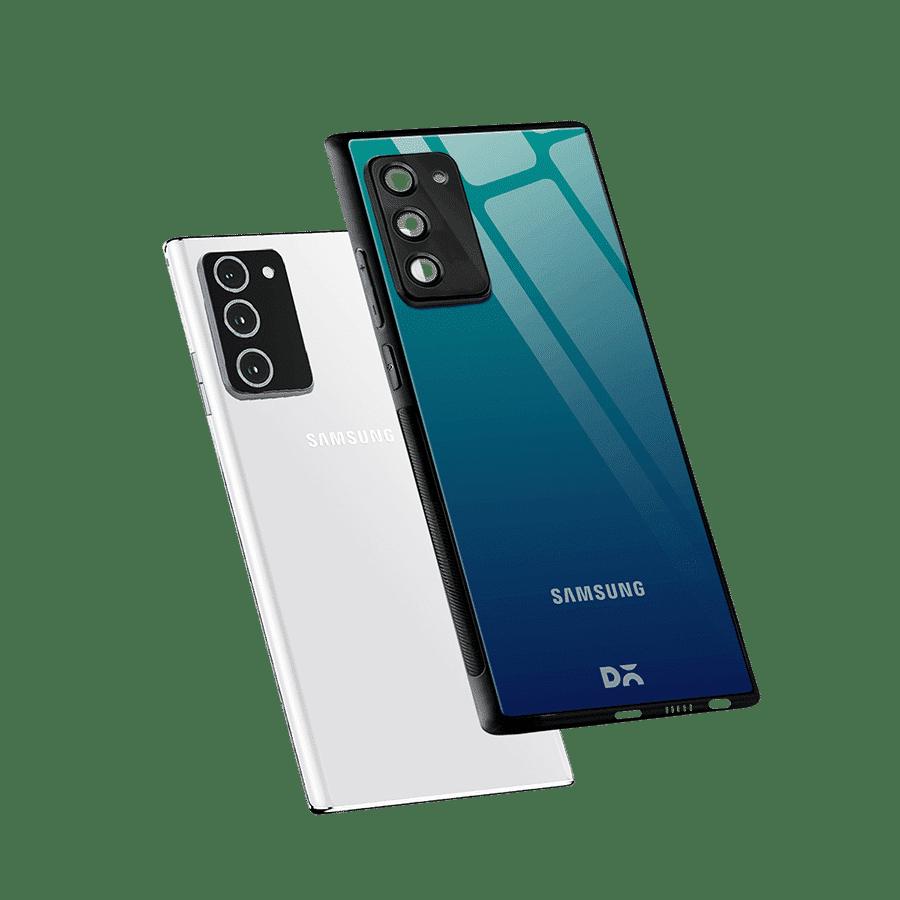 Underwater Gradient Glass Case Cover For Samsung Galaxy Note 20 | Klippik Kuwait