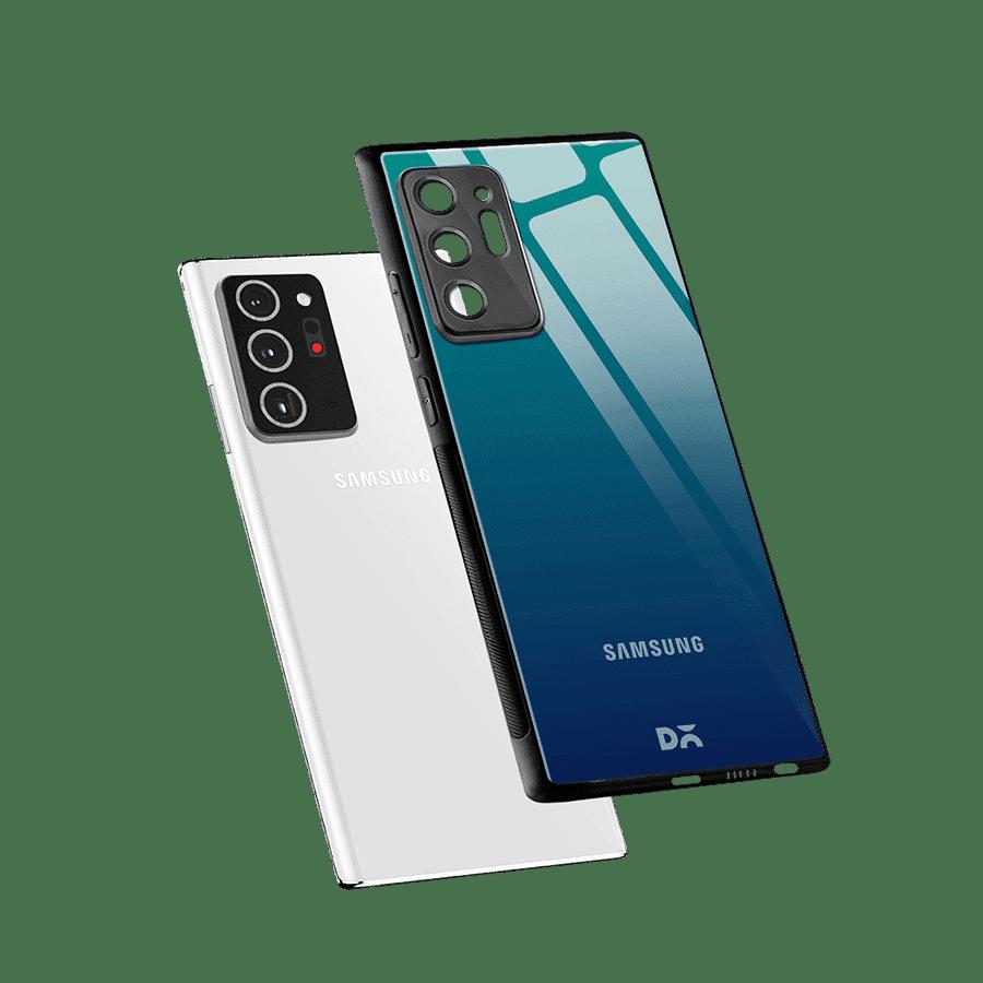 Underwater Gradient Glass Case Cover For Samsung Galaxy Note 20 Ultra | Klippik Kuwait