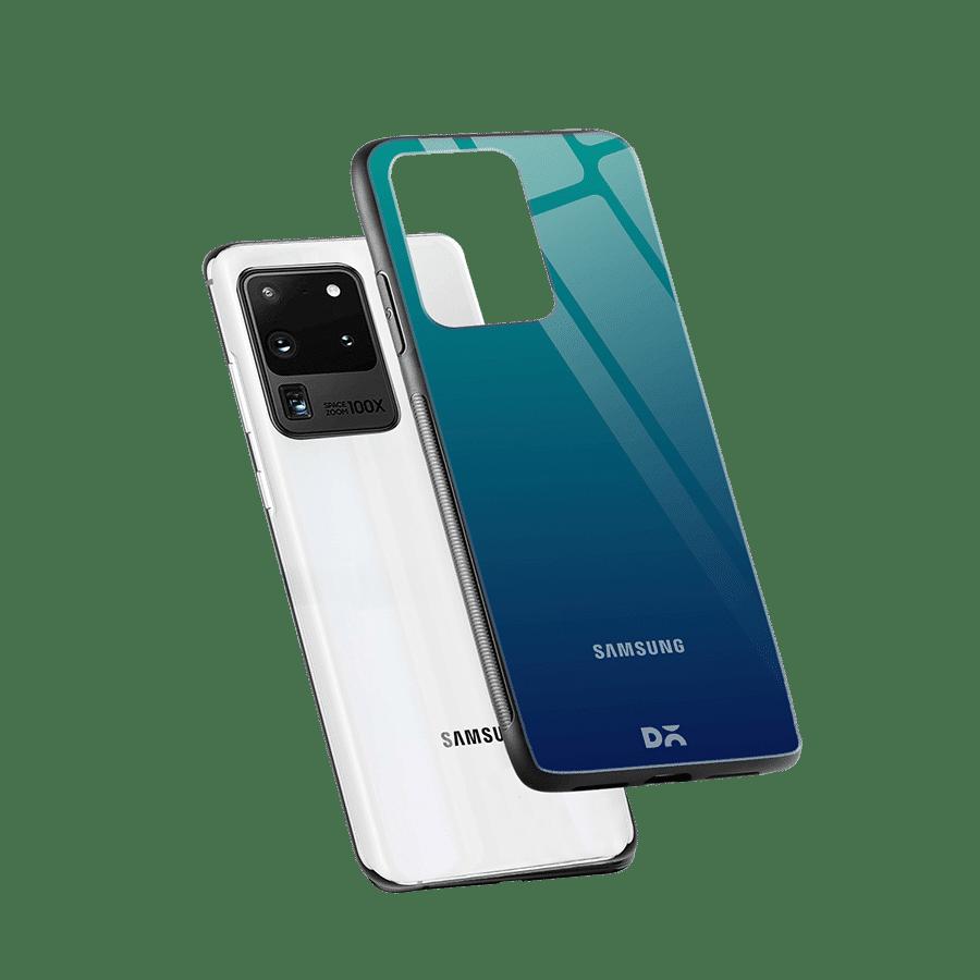 Nightfall Gradient Glass Case Cover For Samsung Galaxy S20 Ultra | Klippik Online Shopping