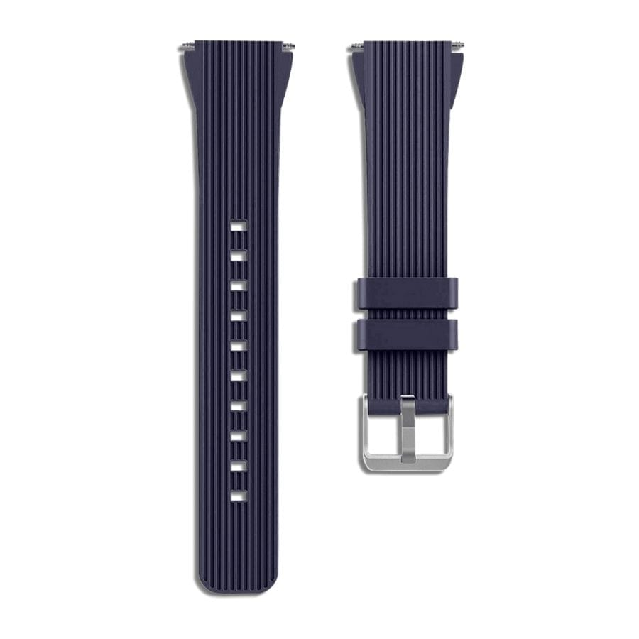 Blue Silicone Universal WatchBand for Samsung, Huawei Smart Watches | Klippik | Online SHopping