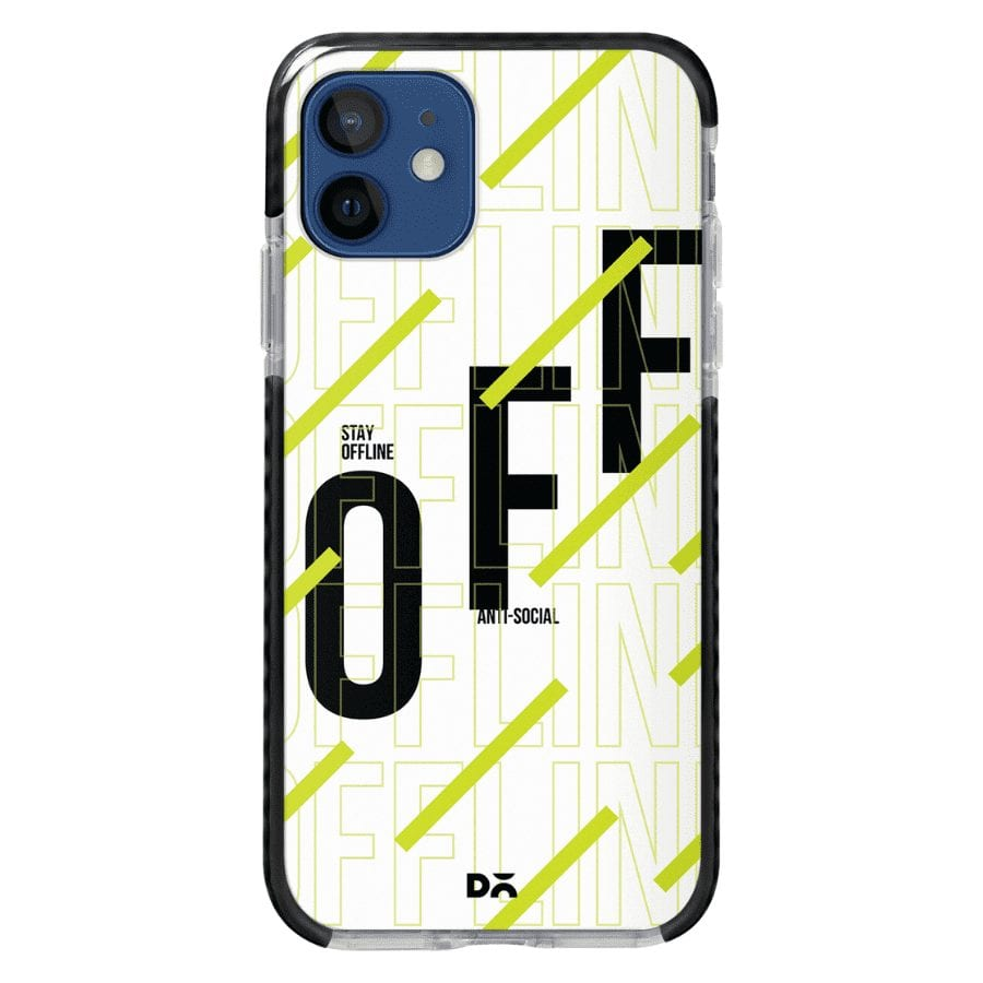 Stay Offline Stride Case Cover for Apple iPhone 12 Mini and Apple iPhone 12 with great design and shock proof | Klippik | Online Shopping | Kuwait UAE Saudi
