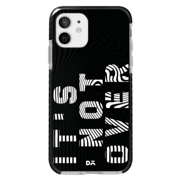 Its Not Over Stride Case Cover for Apple iPhone 12 Mini and Apple iPhone 12 with great design and shock proof | Klippik | Online Shopping | Kuwait UAE Saudi