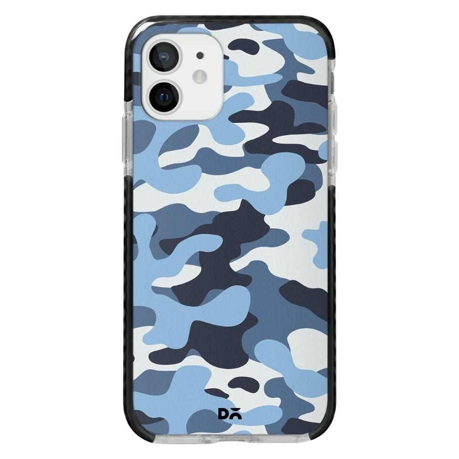 Camouflage Aquatic Case Cover for Apple iPhone 12 Mini and Apple iPhone 12 with great design and shock proof | Klippik | Online Shopping | Kuwait UAE Saudi