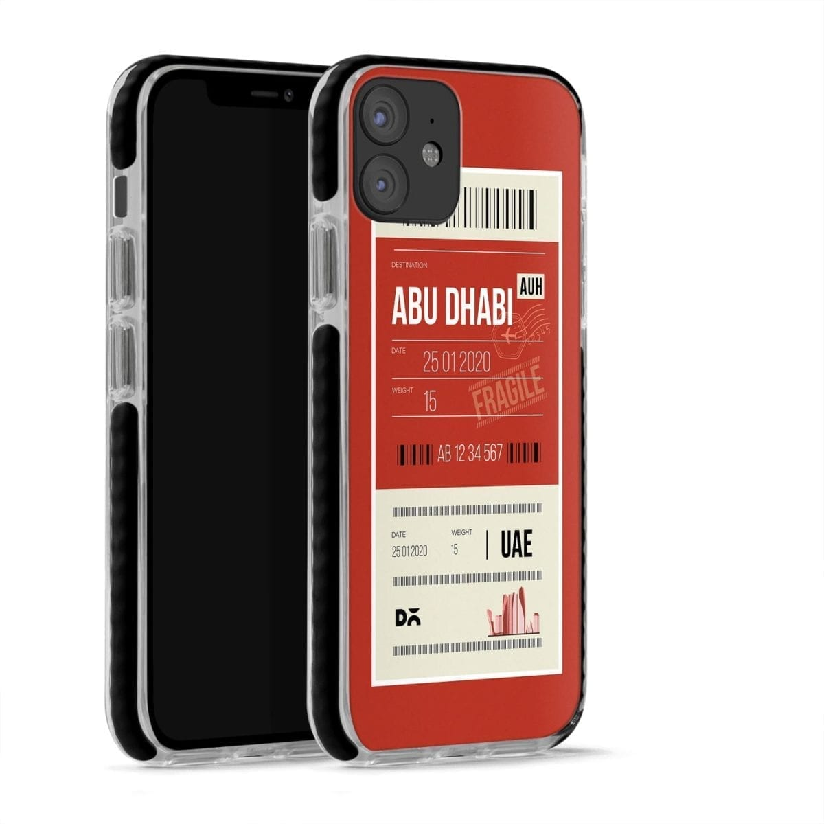 Abu Dhabi Case Cover for Apple iPhone 12 Mini and Apple iPhone 12 with great design and shock proof | Klippik | Online Shopping | Kuwait UAE Saudi