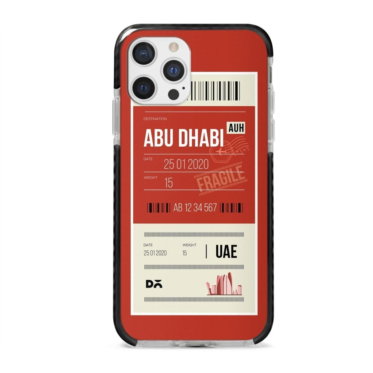 Abu Dhabi Case Cover for Apple iPhone 12 Pro and Apple iPhone 12 Pro Max with great design and shock proof | Klippik | Online Shopping | Kuwait UAE Saudi