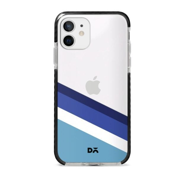 Aqua Angles Stride Case Cover for Apple iPhone 12 Mini and Apple iPhone 12 with great design and shock proof | Klippik | Online Shopping | Kuwait UAE Saudi