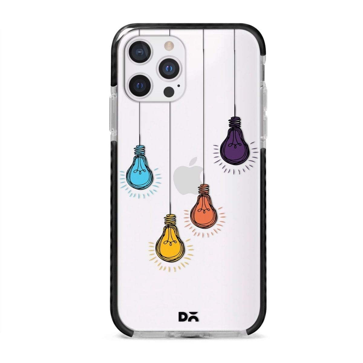 Clear Bulbs Stride Case Cover for Apple iPhone 12 Pro and Apple iPhone 12 Pro Max with great design and shock proof | Klippik | Online Shopping | Kuwait UAE Saudi